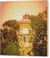 The Light Tower Wood Print