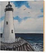 The Lighthouse Wood Print