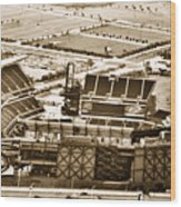 The Linc - Aerial View Wood Print