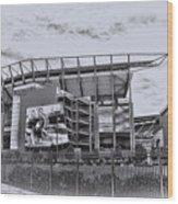 The Linc - Philadelphia Eagles Wood Print