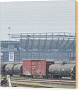 The Linc From The Other Side Of The Tracks Wood Print
