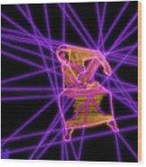 The Lines Of Martha Graham L Tech Wood Print