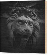 The Lion Gate Wood Print