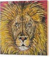 The Lions Selfie Wood Print