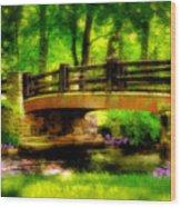 The Little Stone Bridge Wood Print