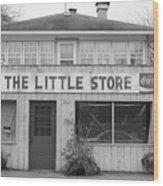 The Little Store Wood Print