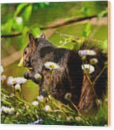 The Little Things Wood Print