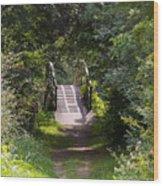 The Little Wooden Bridge Wood Print
