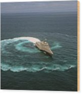 The Littoral Combat Ship Uss Independence Wood Print
