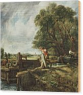The Lock Wood Print