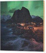 The Lofoten Dream Wood Print