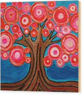 The Lollipop Tree Wood Print