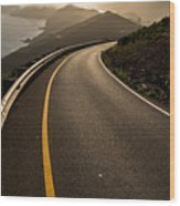 The Long And Winding Road Wood Print