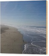 The Long Beach Wood Print