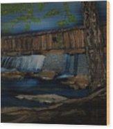 The Long Bridge Wood Print