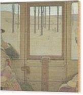 The Long Journey Wood Print
