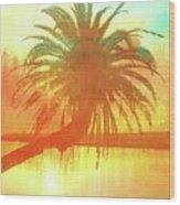 The Loop Palm Textured Wood Print