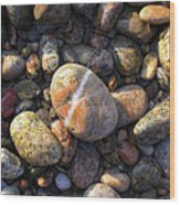 The Lucky Rock Wood Print
