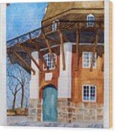 The Lumby Mill Wood Print