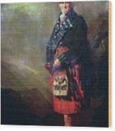 The Macnab Wood Print