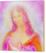 The Madonna Of Compassion Wood Print