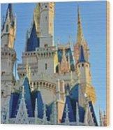The Magic Castle Wood Print