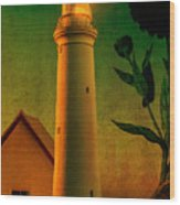 The Magic Lighthouse Wood Print