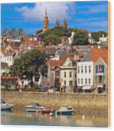 The Magic Of St. Peter Port In Guernsey Wood Print