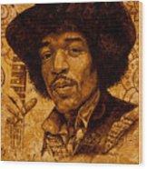 The Magician Wood Print