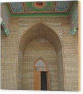 the main entrance, doorway, door, Asia Wood Print