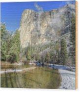 The Majestic El Capitan Yosemite National Park Wood Print
