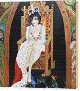 The Majestic Joan Collins D B E Wood Print