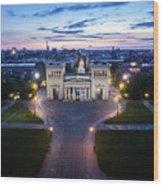 The Majestic Koenigplatz Wood Print