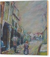 The Malacca Street Wood Print