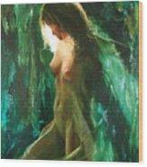 The malachite light Wood Print