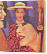 The Man In Her Life Paid More Attention To Ruby Hatfield After She Bought That New Dress Wood Print