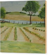 The Mangan Farm  Wood Print