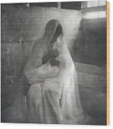 The Manger, By Gertrude Kasebier, Shows Wood Print