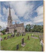 The Marble Church Wood Print