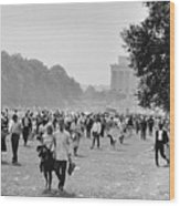 The March On Washington  Heading Home Wood Print