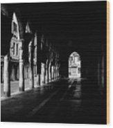 The Market Hall Wood Print