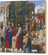 The Marriage At Cana Wood Print