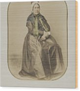 The Married Woman Wood Print