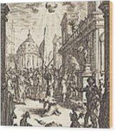 The Martyrdom Of Saint James Major Wood Print