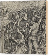 The Martyrdom Of St. Catherine Of Alexandria Wood Print