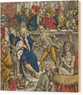 The Martyrdom Of St John Wood Print