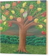 The Marzipan Tree Wood Print