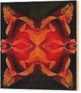 The Mask Wood Print