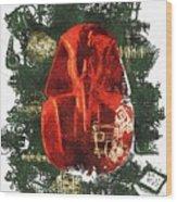 The Mask Of Tutankhamun Wood Print