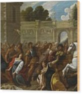 The Massacre Of The Innocents Wood Print
